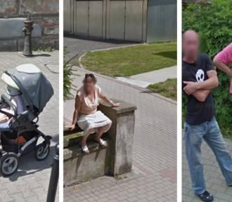 Mieszkańcy Lubania przyłapani przez kamerę Google Street View