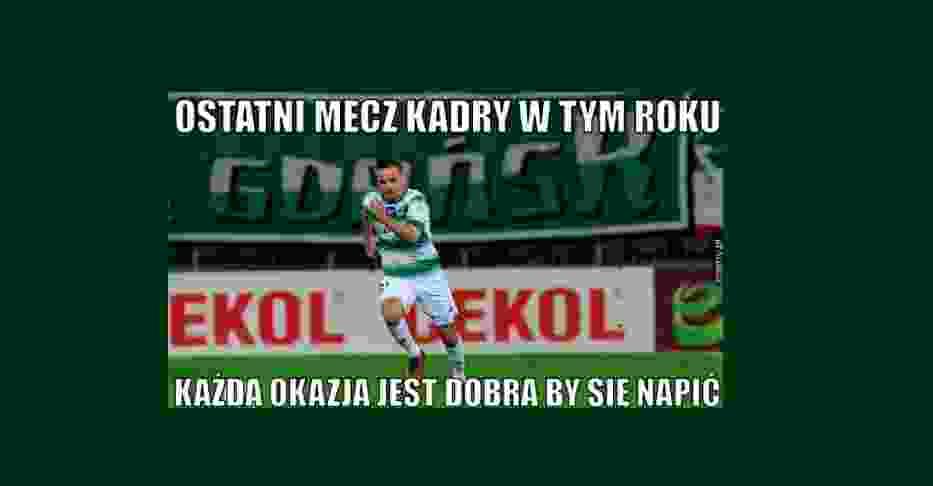 Polska - Meksym MEMY. Najlepsze memy po ostatni meczu kadry w tym roku