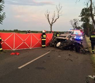 Tragiczny wypadek między Szamocinem a Białośliwiem. Nie żyje 19-latek z gminy Wyrzysk