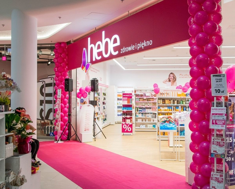 Nowe sklepy w galerii Solaris Center w Opolu - Hebe