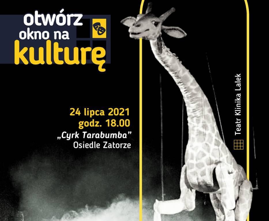 """Trrzeci  spektakl w ramach cyklu """"Otwórz okno na kulturę"""" odbędzie się  24 lipca w sobotę  o godzinie 18:00 na boisku III LO w Koninie"""