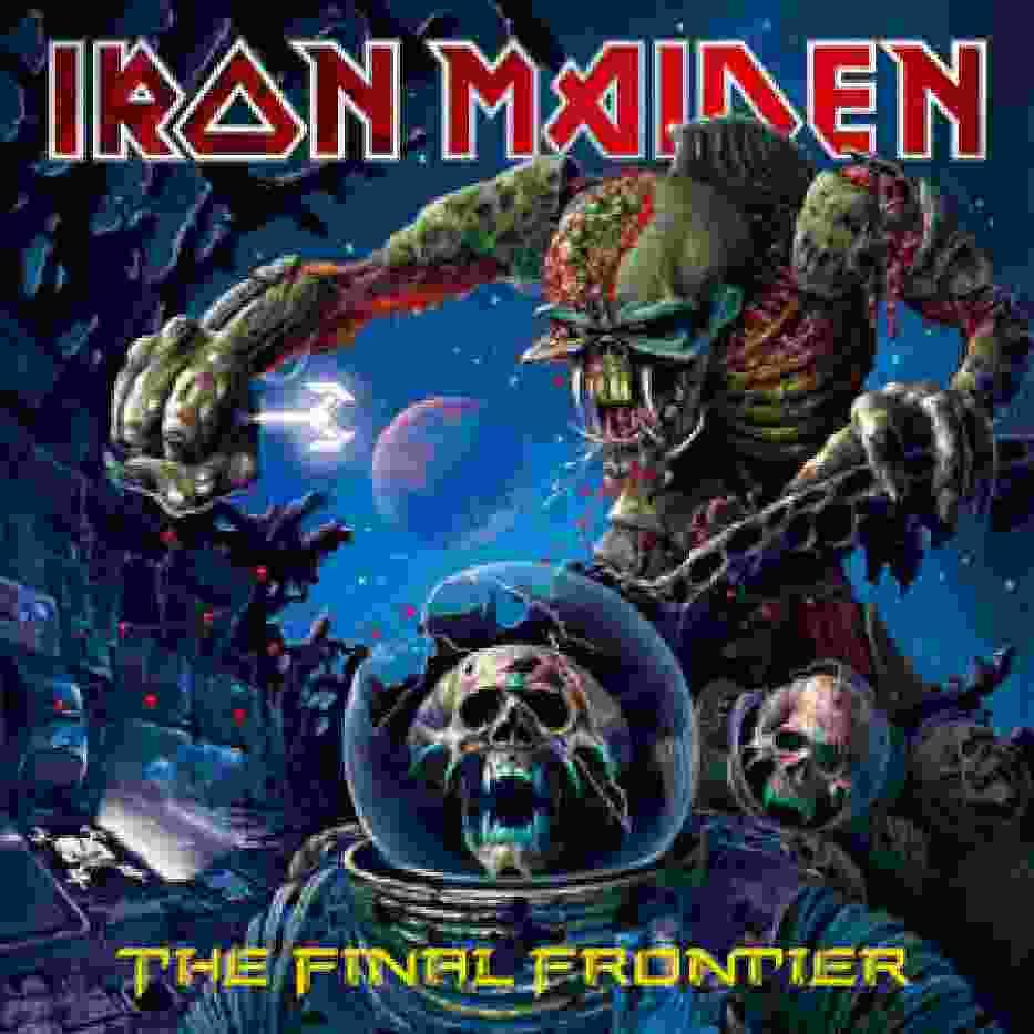 Okładka albumu The Final Frontier
