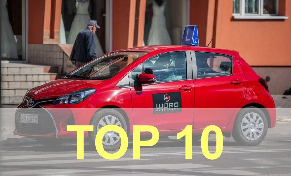 Oto szkoły nauki jazdy, które w kształceniu kursantów osiągają najlepsze rezultaty