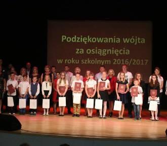 Podziękowania dla uzdolnionych uczniów z gminy Przytoczna [ZDJĘCIA]
