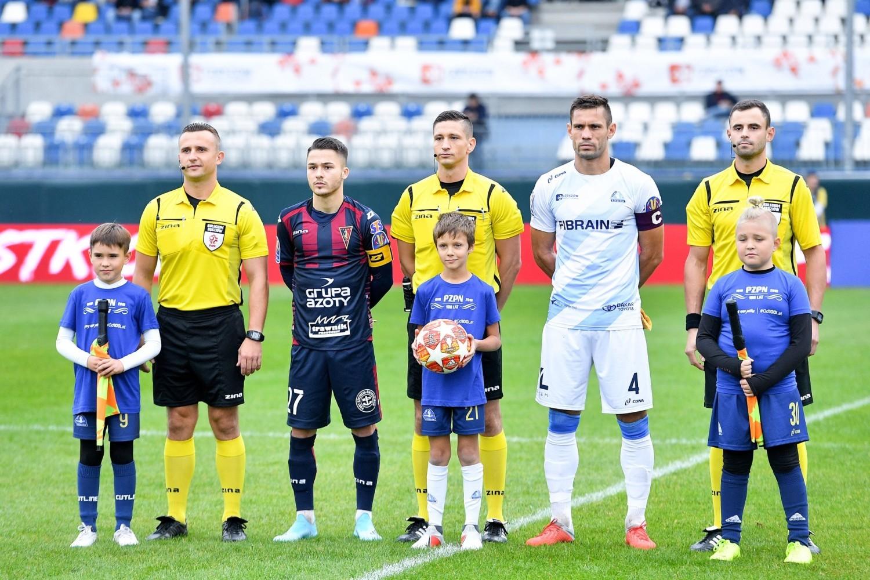 Sebastian Kowalczyk jest obecnie najmłodszym kapitanem w ekstraklasie