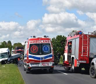 Śmiertelny wypadek na drodze między Broniszewicami a Choczem