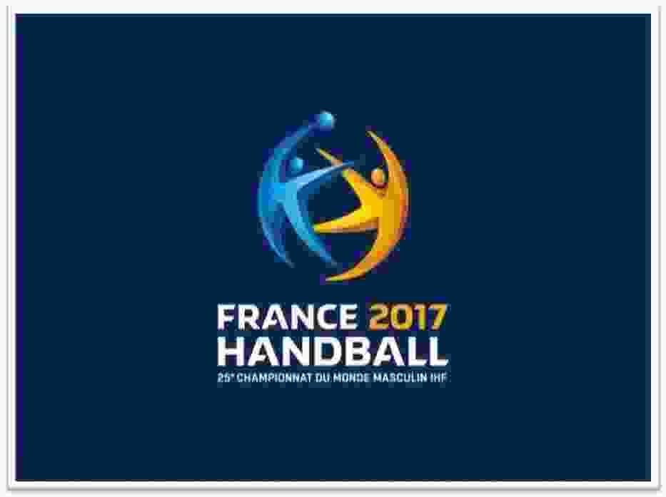 Fot: Logo Mistrzostw Świata we Francji 2017 w piłce ręcznej