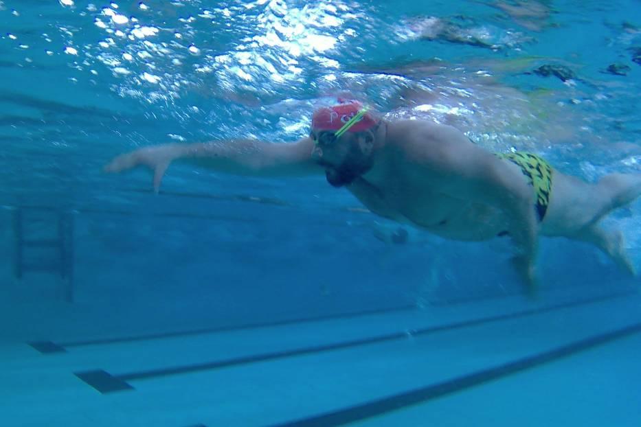 Przemyski maraton był propozycją dla wszystkich sympatyków pływania