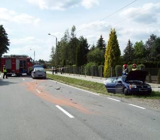 Wypadek w Dąbrowie Tarnowskiej. Dwoje dzieci w szpitalu