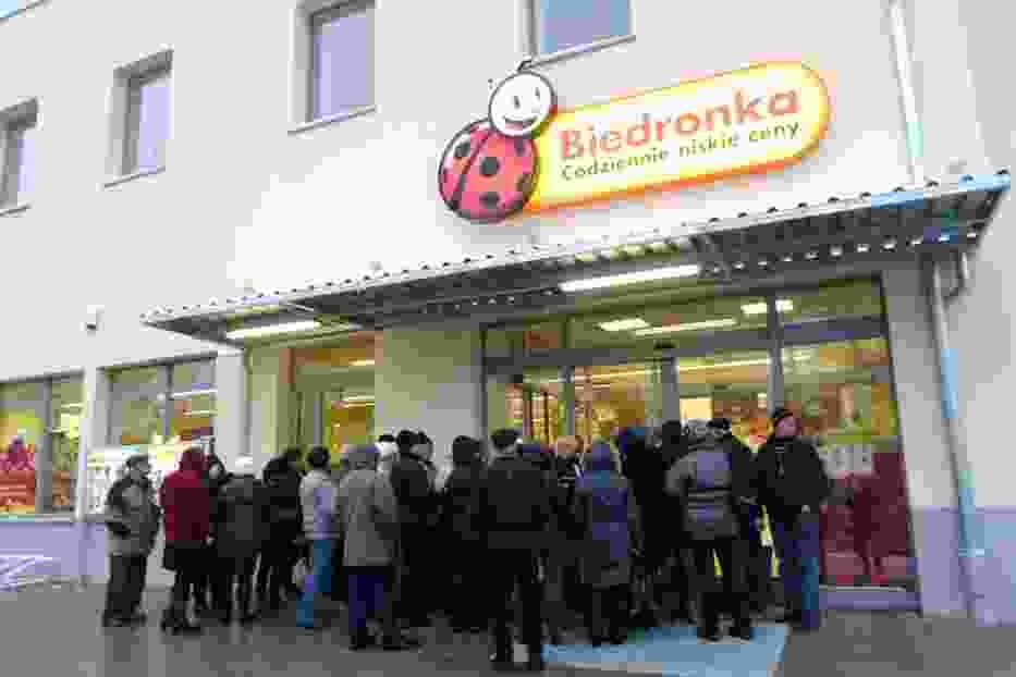 W Łodzi otwarto dwa nowe sklepy sieci Biedronka
