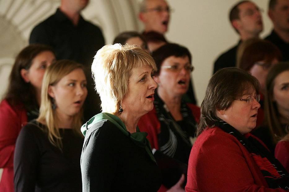Koncert chórów w Legnicy