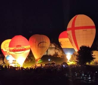 Balonowa fiesta po zmroku - było klimatycznie