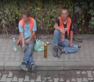 Perełki z kamer Google Street View w Oleśnicy i Sycowie. Mamy najdziwniejsze ujęcia!