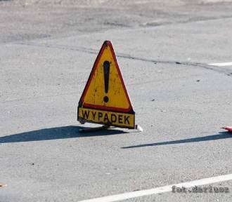 Wypadek w Domaszkowie. Auto uderzyło w sarnę