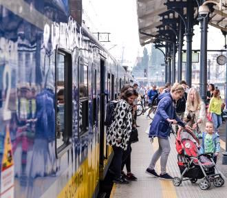 Opóźnienia pociągów SKM na trasie Gdańsk Oliwa - Sopot. Ruch wahadłowy. Awaria SKM [12.07]