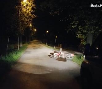 Wypadek motocyklisty w Goleszowie. Ciężko ranny 17-latek trafił do szpitala