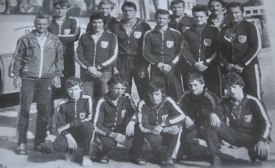 Lata 1980-1990 u zapaśników Ceramika z olimpiadą w Seulu w tle