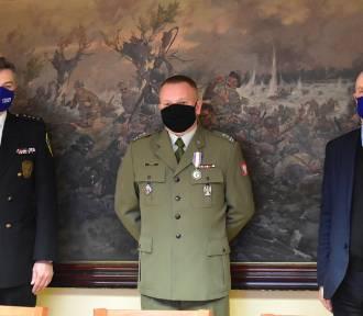 Miasto podziękowało za pracę komendantowi WKU w Częstochowie