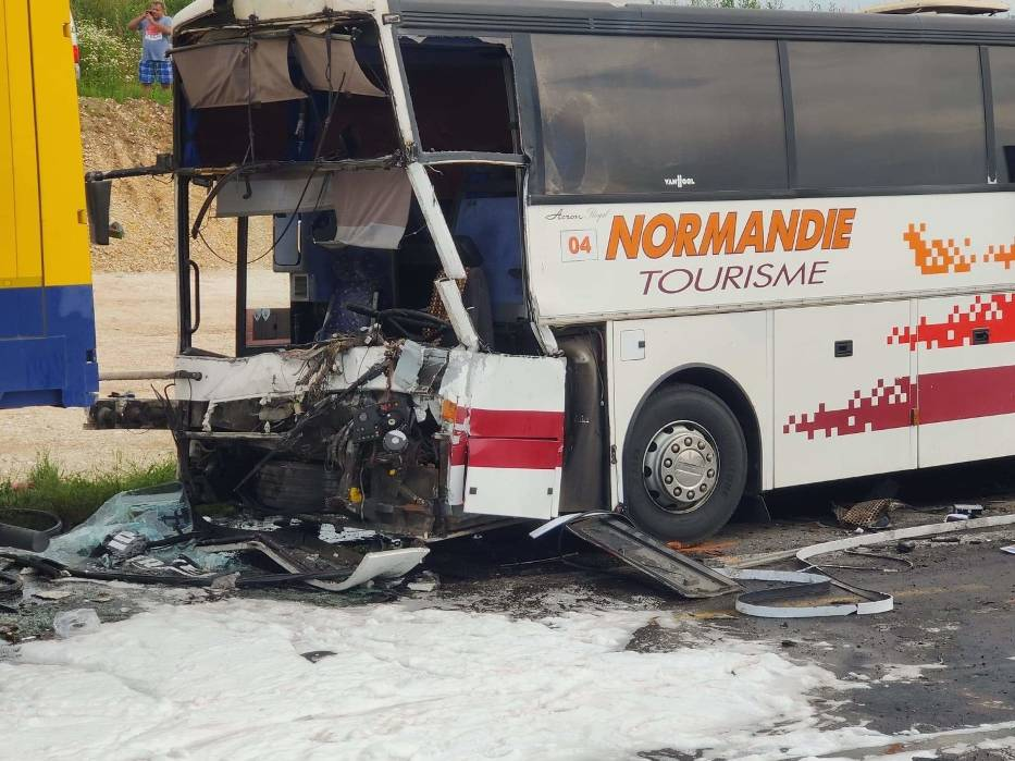 Wypadek na A1 w Bogusławicach pod Częstochową