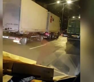 Wypadek na A2. Kierowcy nie zrobili korytarza życia!