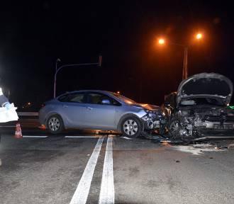 Wypadek na skrzyżowaniu DK 14 z ul. Piaskową w Łowiczu [AKTUALIZACJA]