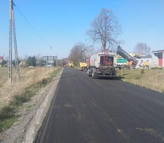 Prace drogowe w gminie Twardogóra dobiegają końca!