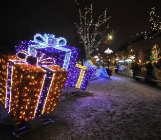 Najcudowniejsze, magiczne iluminacje świąteczne w Polsce! [zdjęcia]