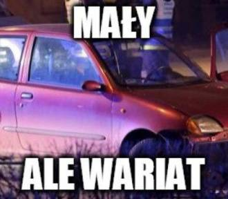 Kolejny wypadek rządowego samochodu [MEMY]