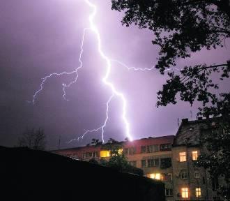 Ostrzeżenie meteorologiczne. Będą burze i grad!