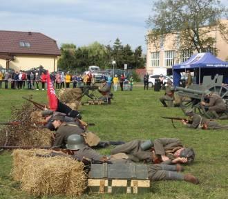 Rekonstrukcja Bitwy Warszawskiej w Krzywosądzy w powiecie radziejowskim [zdjęcia]