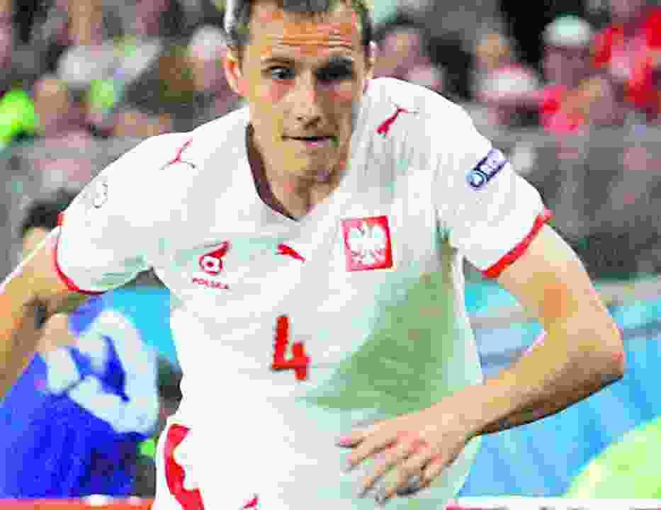 Paweł Golański może nie zagrać w meczu ze Słowenią