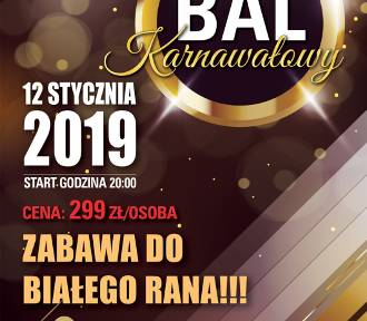 Bal Karnawałowy w Zamku Kliczków. Zapraszamy!!