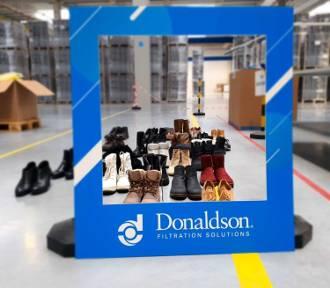 Donaldson wziął udział w ogólnopolskiej akcji zbiórki obuwia dla bezdomnych