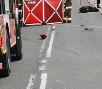 28-latek na skuterze zginął w wypadku