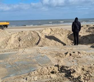 Świnoujście zapłaciło 12 tys. zł za naprawę wejścia na plażę po sztormie