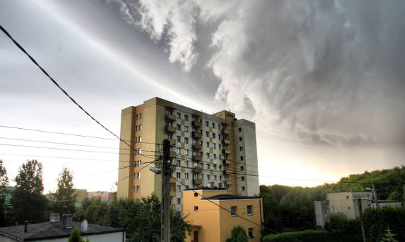 Gdzie jest burza na Mazowszu? [BURZOWA MAPA POLSKI]
