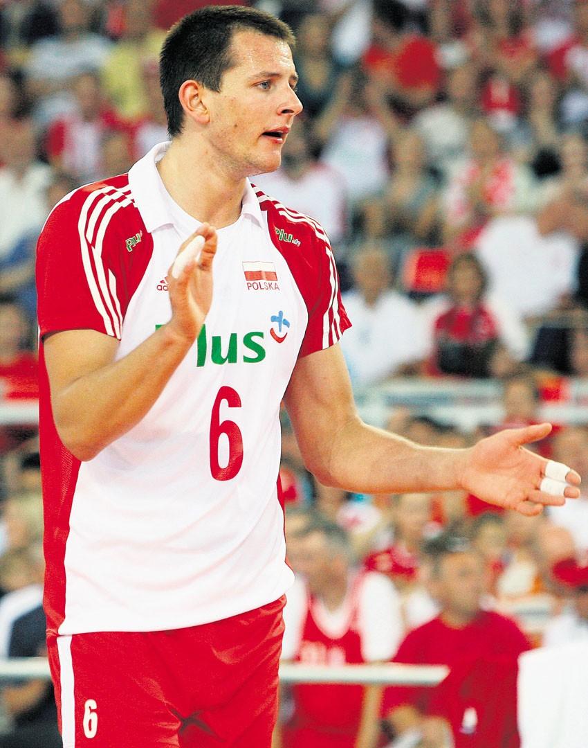 Bartosz Kurek jest podstawowym graczem reprezentacji Polski