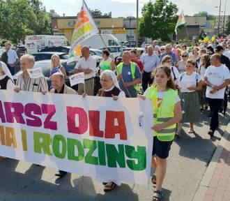 Marsz dla życia i rodziny przeszedł w Strzelcach Opolskich