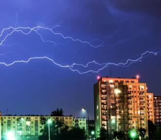 IMGW ostrzega przed burzami w Kujawsko Pomorskiem. Gdzie jest burza?