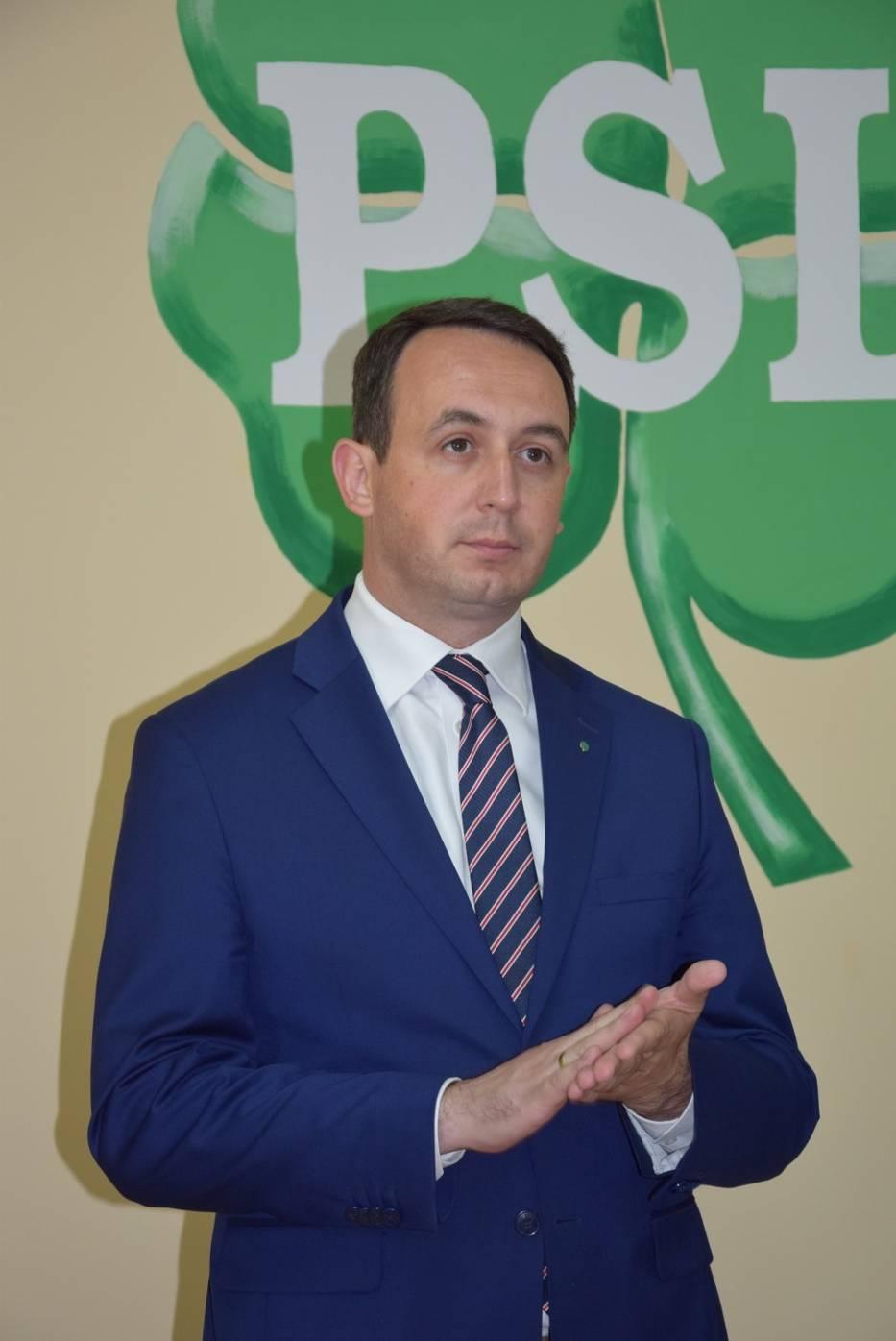Paweł Bejda otworzył biuro w Sieradzu