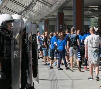 Przez protest policjantów odwołają mecz Lecha z Jagiellonią?