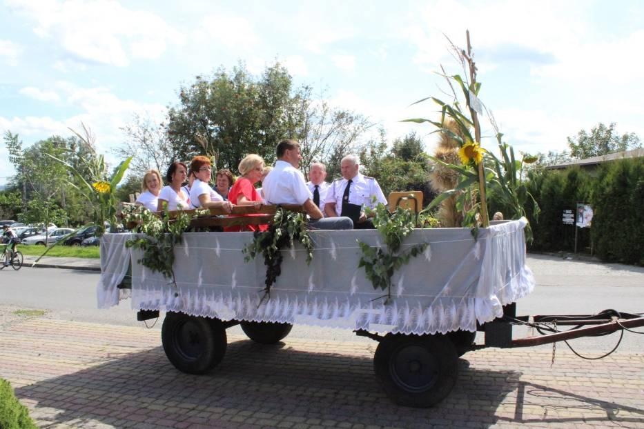 W Buszkowiczkach odbyły się Dożynki Gminy Żurawica 2019