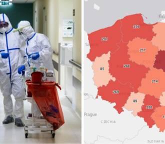 Zastraszący wzrost nowy zakażeń w woj. śląskim. Gdzie zachorowań jest najwięcej?