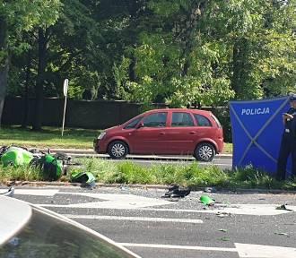 Śmiertelny wypadek w Łodzi. Zginął 31-letni motocyklista