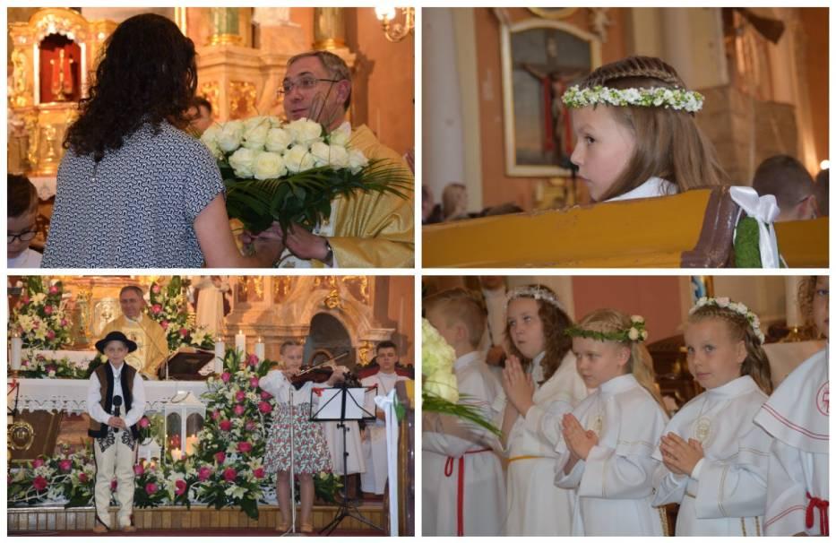 I Komunia Święta w parafii pw. św. ap. Piotra i Pawła w Krotoszynie