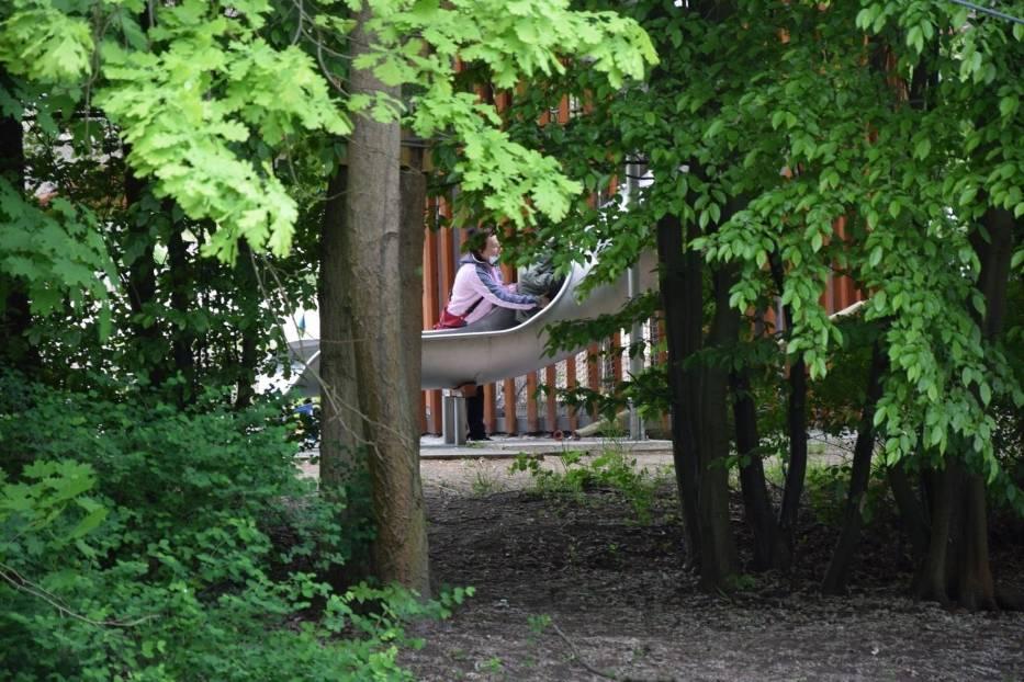 Dolina Gęśnika to popularne miejsce rekreacji w Zielonej Górze