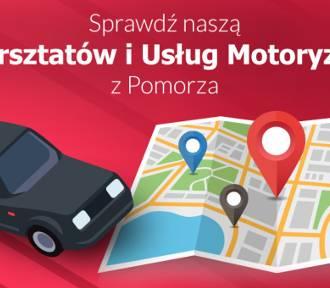 Mapa Warsztatów i Usług Motoryzacyjnych na Pomorzu