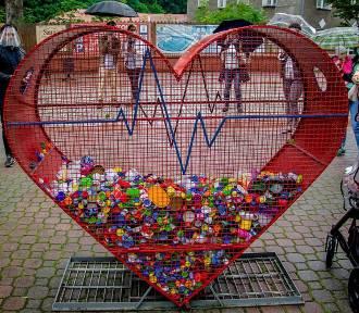 Uwolnili serce Szczawna-Zdroju! Pierwsze nakrętki trafiły do chorej dziewczynki (ZDJĘCIA i