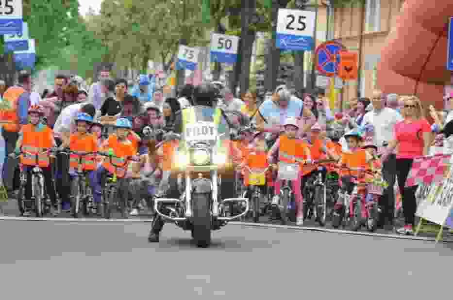 Około 700 zawodników z miasta i gminy Zbąszynek zgłosiło się do udziału, w rowerowej imprezie