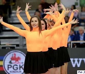 Cheerleaders na meczu AZS Koszalin - GTK Gliwice [ZDJĘCIA]